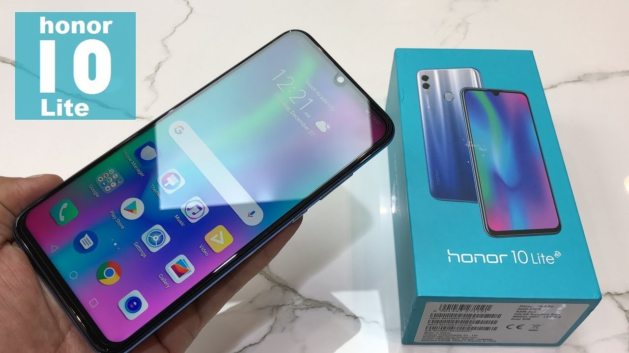 Honor 10 Lite Unboxing And Review Youtube