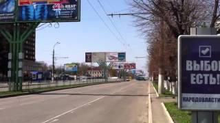 Студенты приходили  Провокация ЛуганскLugansk 17 04 2014