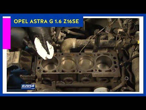 Фото к видео: OPEL ASTRA G 1.6 Z16SE Full gaskets set / Juego Completo de juntas para motor AJUSA