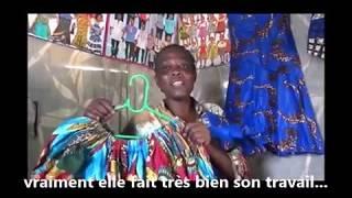 Témoignage Jeanny kilema formée par HPP-Congo en coupe et couture