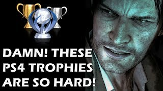 14 Trophies So Crushingly Hard You Will Break Your PS4 In Frustration