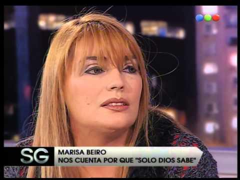 Solo dios sabe, Marisa Beiro parte 02 - Susana Gimenez 2007