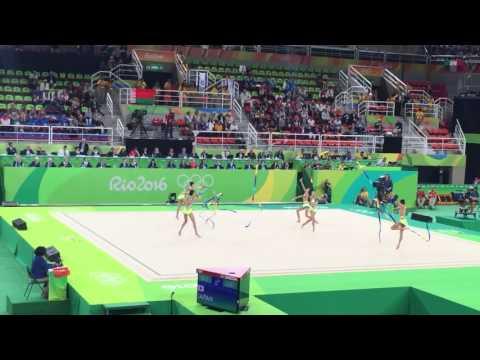 フェアリージャパンのリボン リオ五輪 新体操 チーム