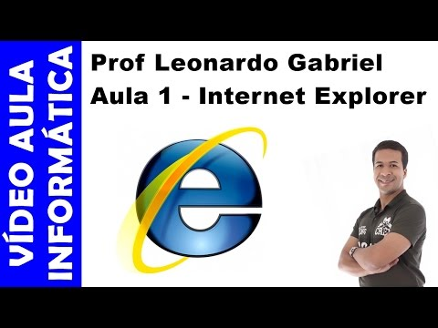 Vídeo aula - Informática - Aula 1 - Internet Explorer