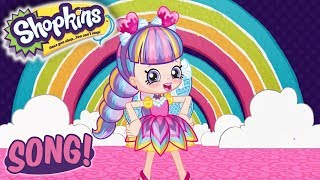 Shopkins SONG 🌟Let's go paint the town rainbow 🌟Cartoons for kids