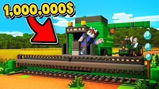 ZOSTALIŚMY NAJLEPSZYMI FARMERAMI I ZAROBILIŚMY 1,000,000$ (Minecraft Symulator Farmy) | Vito i Bella