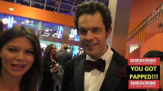 Charles Agron and Danielle Vasinova talk about the name of his new movie at the Premiere Of Monday A