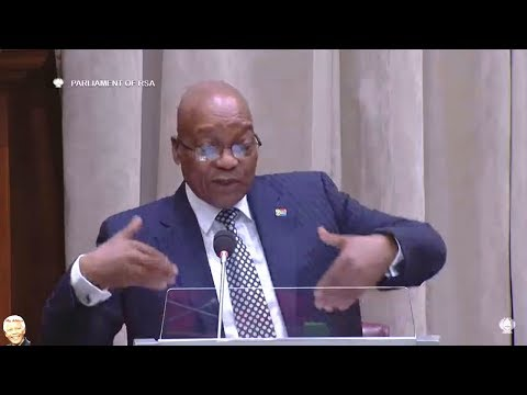 WATCH Jacob Zuma Grilled In NCOP