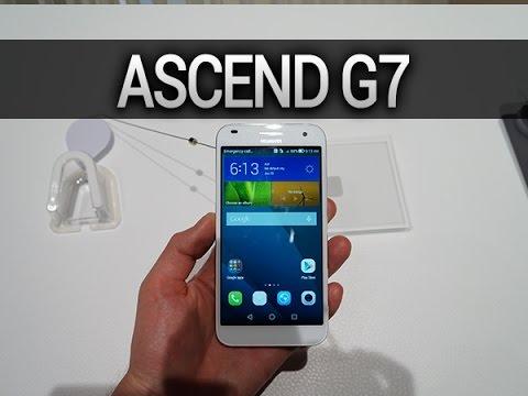 Huawei Ascend G7, prise en main - par Test-Mobile.fr