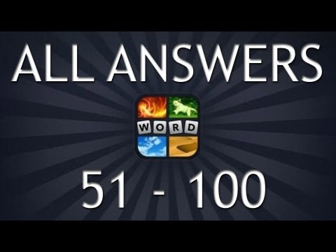 4 Pics 1 Word All Answers (Part 2, 51-100)