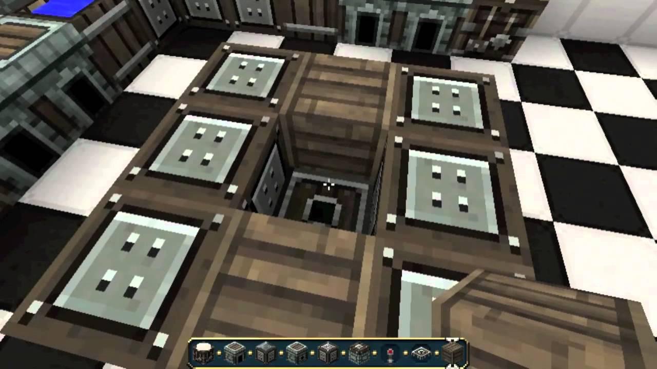 Minecraft - Interior Designs #3: Modern Kitchen - YouTube