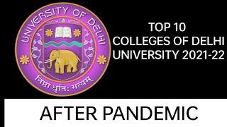 Top 10 Colleges - Top 10 Colleges of DU for Arts , Commerce & Science   2018 - 2019   Delhi University