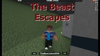 Can The Beast Escape Too - Roblox Flee The Facility