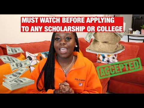 HOW TO WIN ANY SCHOLARSHIP | Tips For College & Scholarship Applications
