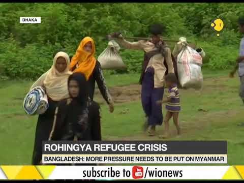 Rohingya refugee crisis: More pressure needs to be put on Myanmar