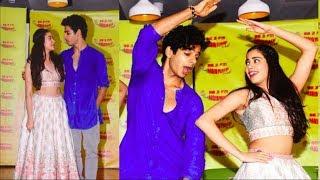 Jhanvi Kapoor  Ishaan Khattars CRAZY Dance On Zingaat Hindi