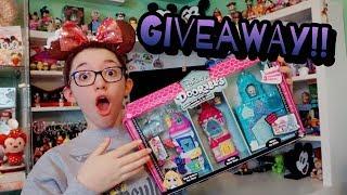 Disney Doorabels Deluxe Playset GIVEAWAY & Series 2 Unboxing!