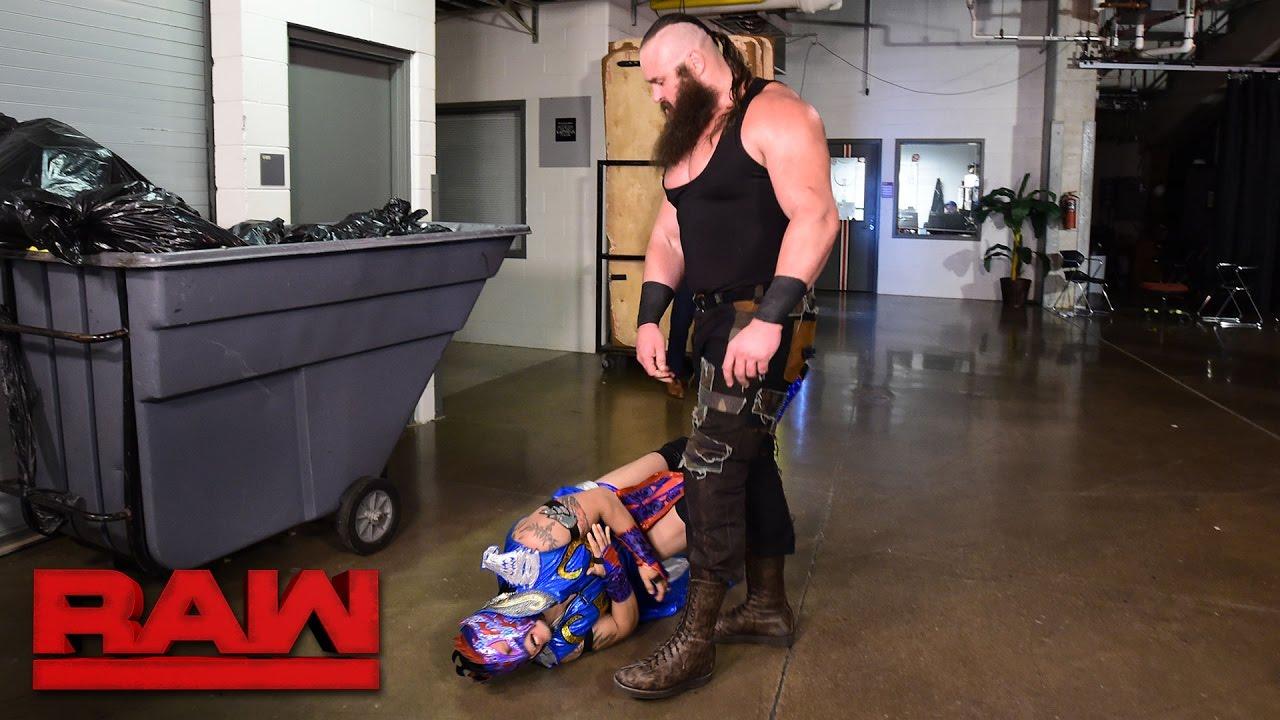 Download Braun Strowman lays waste to Team Red Superstars: Raw, April 17, 2017