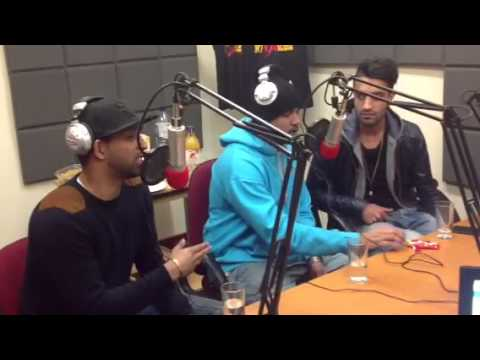 Humza Bad Man LIVE on Luv Asia Radio