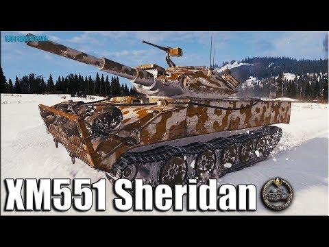 Колобанов на ЛТ-10 Шеридан ✅ World of Tanks лучший бой XM551 Sheridan