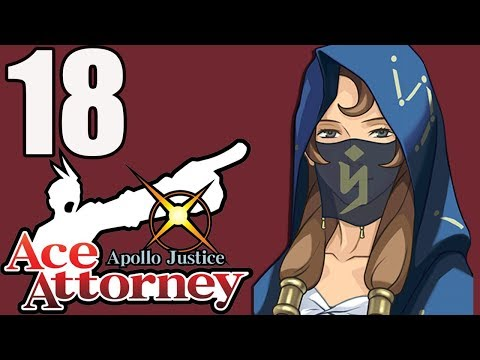 Ace Attorney: Apollo Justice (Blind) -18 - The Beautiful Siren