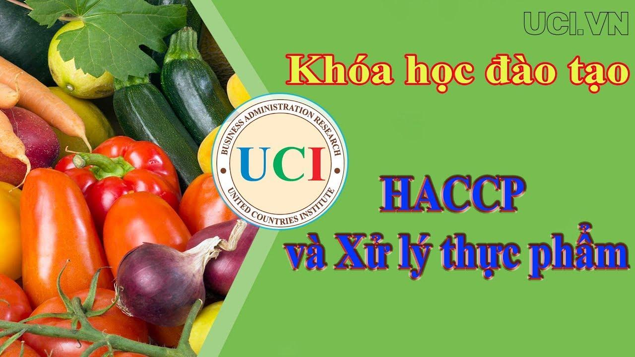 Khóa học đào tạo về HACCP và Xử lý thực phẩm