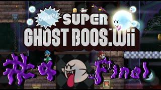Ghostly Super Ghost Boos Wii - 100% Co-op Walkthrough Final Part 4