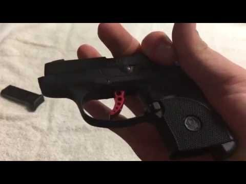 Ruger LCP Custom Disassembly and Assembly