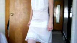 Video Rosalia's Chiffon Trimmed White Full Slip download MP3, 3GP, MP4, WEBM, AVI, FLV Juni 2018