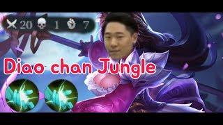 《ahq Rush 》Diao chan Jungle!! Super Op?!?