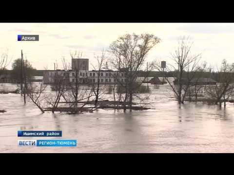 Паводок в Тюменской области: Ишим отступает, Иртыш прибавляет