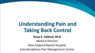 understanding pain and taking back control
