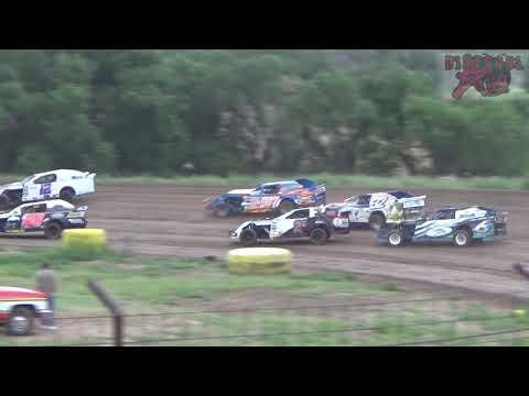 Salina Speedway - 7-27-18 - CSR Mfg. Sport Mod Heats