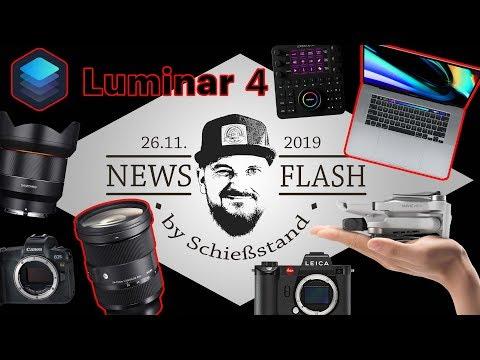 "newsflash-#22---sigma-24-70-2.8-für-sony-e,-luminar-4,-macbook-pro-16"",-leica-sl,-mavic-mini-uvm."