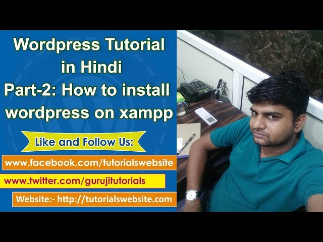 wordpress tutorial in hindi step by step- Part-2: How to install wordpress in xampp step by step