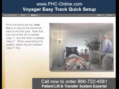 Voyager Easy Track Ceiling Lift