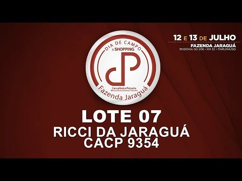LOTE 07 (CACP 9354)
