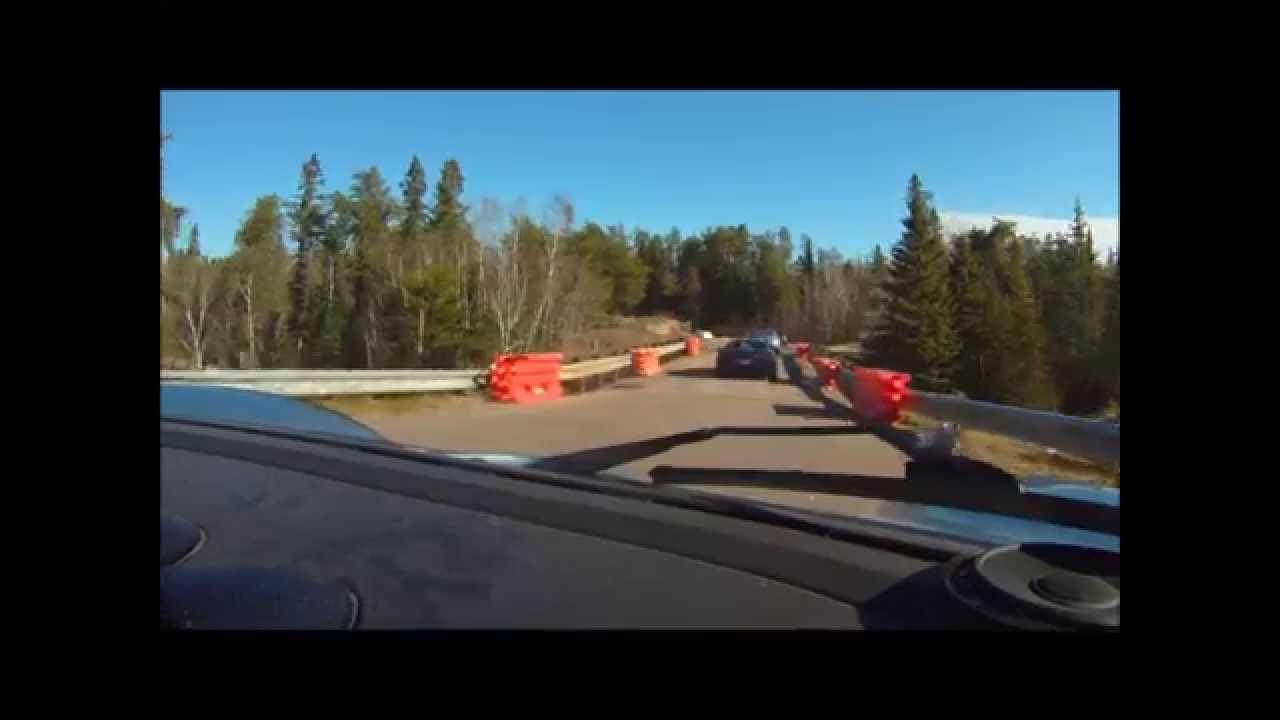 Best Driving Roads in Manitoba - WSCC Fall Drive 2012 - YouTube