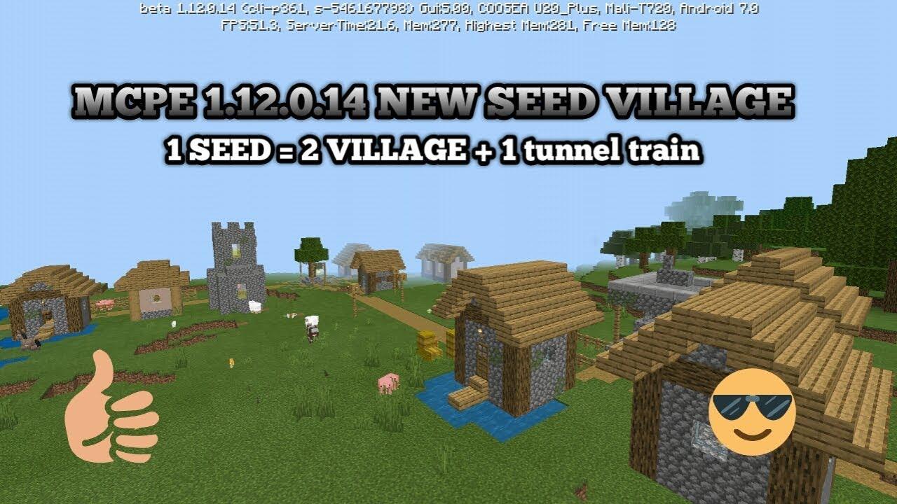 Minecraft Pocket Edition Versi 122.1222.122.1224 - Village Seed in Mcpe versi  122.1222.122.1224 - Mcpe Seed