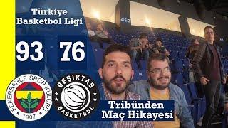 Euroleague Finalinden Önce Fenerbahçe'nin Evinde Oynadığı Son Maça Gittik Fenerbahçe:93 Beşiktaş:76