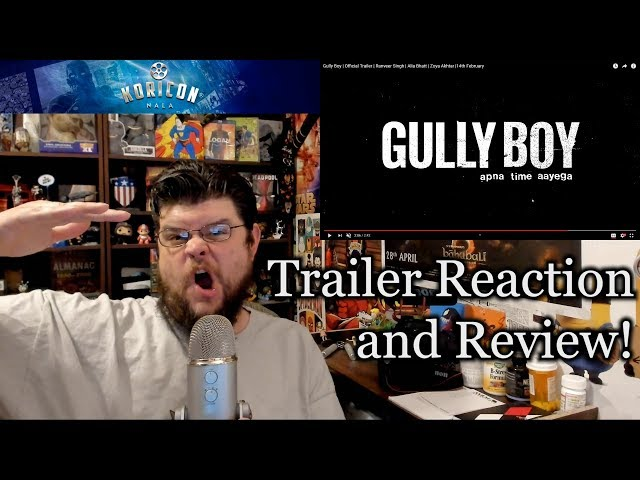 Gully Boy - Hindi Trailer Reaction Review!