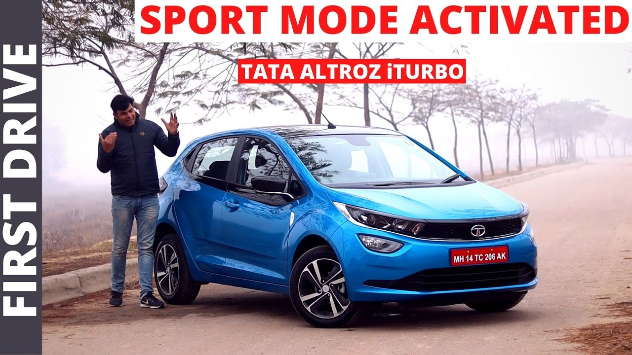 2021 Tata Altroz iTurbo First drive review II Sport Mode Activated II POW