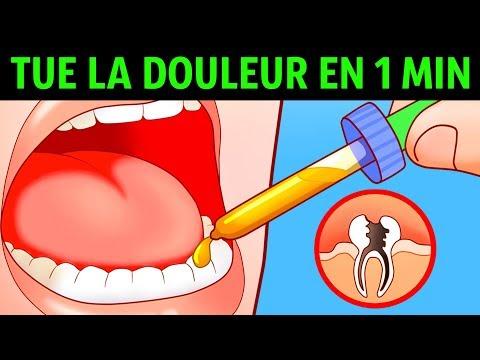 10 Manières Pour se Débarrasser D'un Mal de Dents en Une Minute