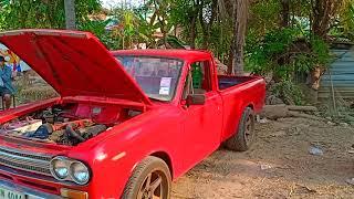 มาดู รถรุ่นเก่าเบิร์นยางแบบฮาๆ