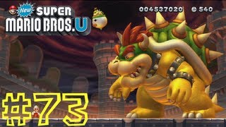 New Super Mario Bros. U -- Peach's Castle-castle Ii: The Final Battle (ending/credits)