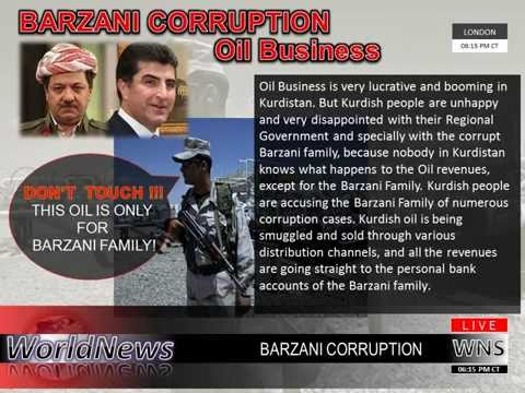 Barzani Oil Corruption