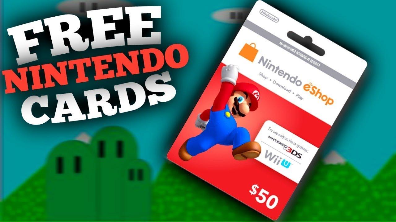Free Nintendo eShop Codes 🎮 How To Get Free Nintendo ...