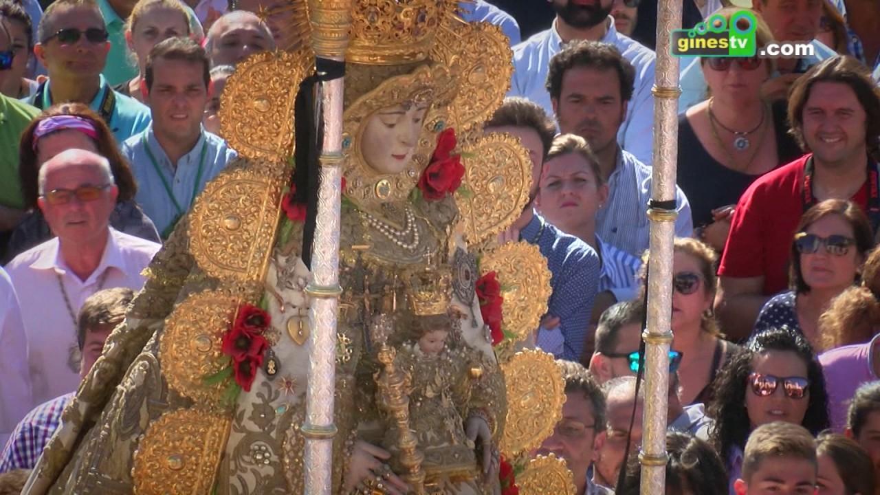 Momentos 2 del Lunes de Pentecostés con la Hermandad de Gines 2017.