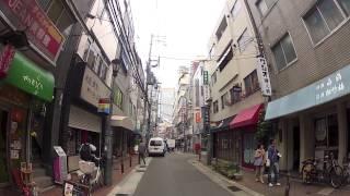 Japanese Back Streets (Motomachi alleys - GoPro)