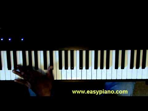 Piano Lesson Tip 1 Basic Left Hand Chord Pattern Lesson For